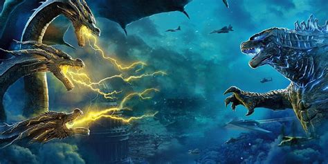 King Of The Monsters Posters Tease An Epic