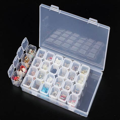 slots diamond painting kits plastic storage box nail
