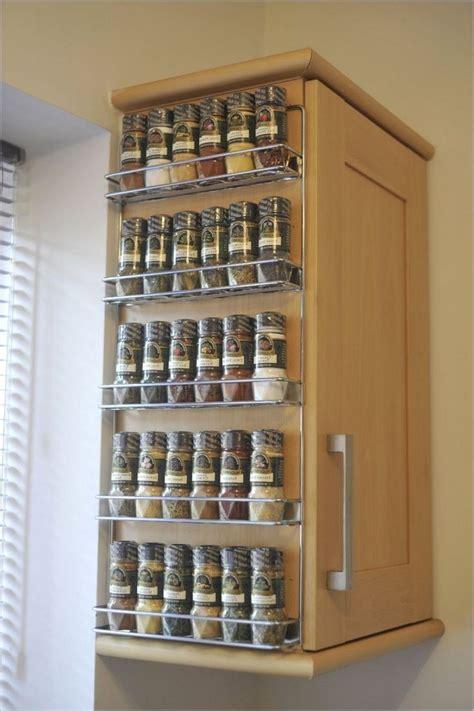 wall spice rack ideas home interior design styles