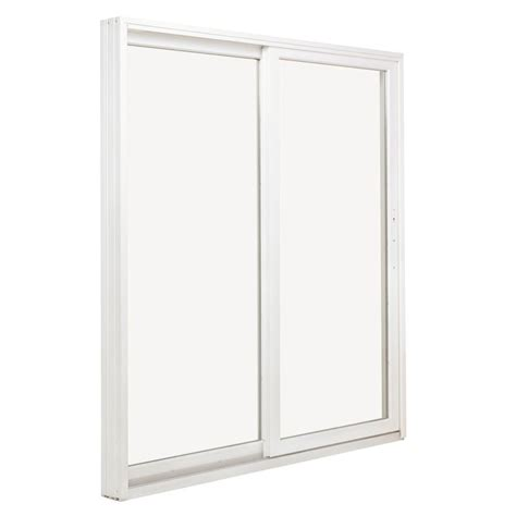 jeld wen 72 in x 80 in white left premium sliding