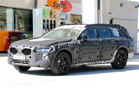 2017 Volvo V90 Cross Country Spied Stands High Off The