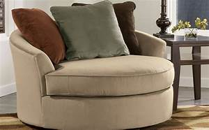 Oversized Swivel Accent Chair » Home Decorations Insight