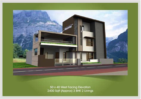 Home Design 50*40 : 40 X 50 House Plans West Facing