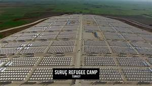 Turkey's biggest refugee camp a few kilometers from Syria ...