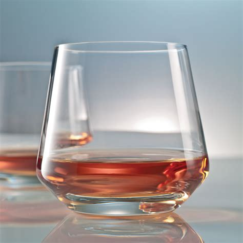 Whiskey Barware by Sof Glass Tumblers Set Of 6