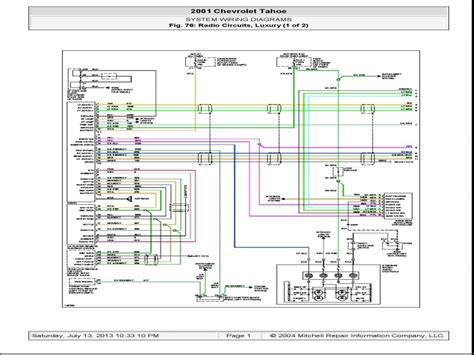 Radio Wiring Diagram 2004 by 2004 Chevy Suburban Radio Wiring Diagram Wiring Forums