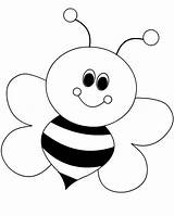 Bees Coloring Pages Printable Colouring Chubby sketch template