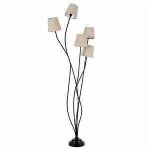 Lampe Sur Pied Maison Du Monde : lampadaires salons and lampes on pinterest ~ Teatrodelosmanantiales.com Idées de Décoration