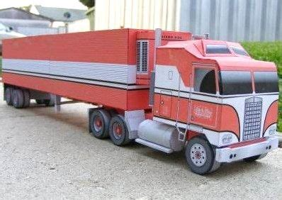 Driving and shifting a kenworth k100 cab over 15 speed fully restored. Kenworth K100 Truck Free Vehicle Paper Model Download | Paper models, Car wheels, Kenworth