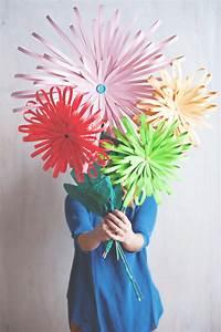 diy paper flower tabletop display decor8
