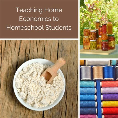 Write Your Own Home Economic Curriculum for Homeschool ...