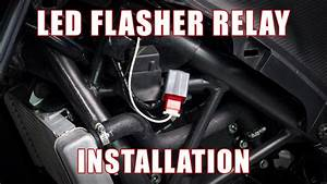 How To Install Led Flasher Relay On A Honda Cbr300r  250r
