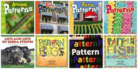 math picture books for preschool 508 | patterns Preschool Math Books 3