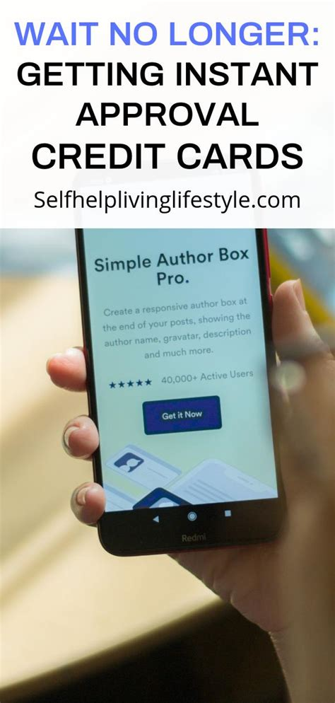 Instant approval credit cards provide you with an approval decision in real time. Wait No Longer: Getting Instant Approval Credit Cards - Selfhelplivinglifestyleforum