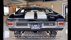 1970 Chevelle Ss Classic Muscle Car For Sale In Mi
