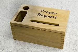 Small Prayer Request Box for a friend - MySaw