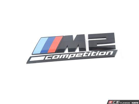 genuine bmw 51148079564 m2 competition emblem priced