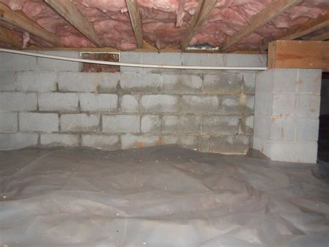 crawlspace waterproofing encapsulation system  dry