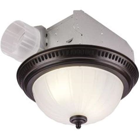 nutone bathroom exhaust fans home depot nutone decorative bronze 70 cfm ceiling exhaust fan with