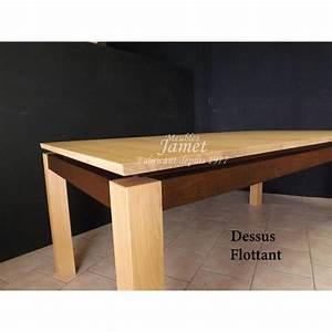 Table Bois Massif Contemporaine : table rectangulaire contemporaine en bois massif meubles jamet ~ Teatrodelosmanantiales.com Idées de Décoration