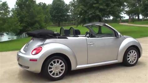 convertible volkswagen 2006 hd video 2006 volkswagen new beetle bug convertible used