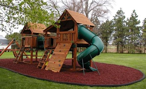 Residential Rubber Mulch Safety Surfacing  Kids World