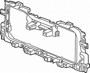 Chevrolet Silverado 3500 Hd Radiator Support Baffle  Rear