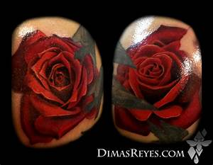Color Realistic Rose Tattoos by Dimas Reyes: TattooNOW