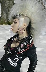 315 Best Images About ART Fashion Punk Cyberpunk Mohawk