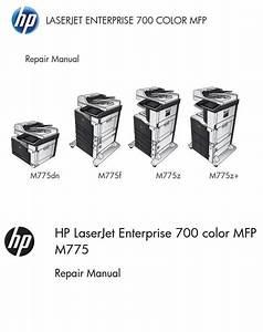 Hp Laserjet Enterprise M775 M775dn M775f M775z M775z