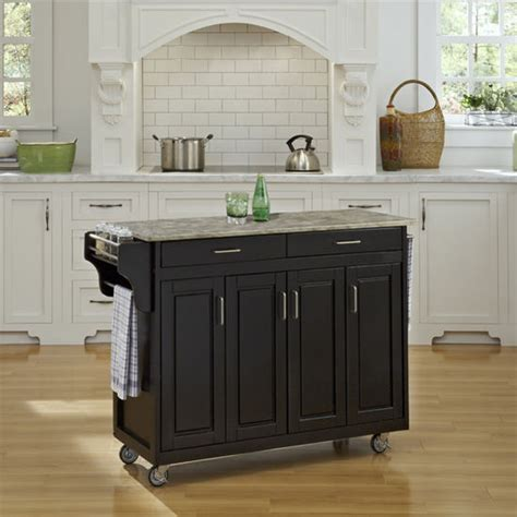 wood top kitchen island 9200 series mix and match 48 wide create a cart with 1611