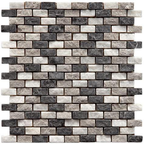 merola tile griselda subway charcoal 12 in x 12 in x 9