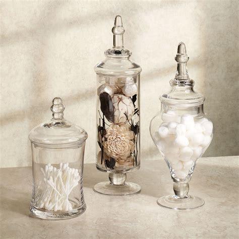 aris glass apothecary jar set