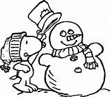 Coloring Pages Christmas Winter Snow Snoopy Peanuts Grinch Printable Snowman Drawings Well Sheets Theme Printables Charlie Brown Clipart Printouts Winte sketch template