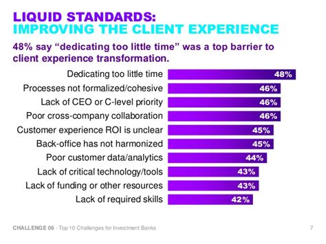 Challenge 6 Improving The Client Experience (top 10 Challenges For I…