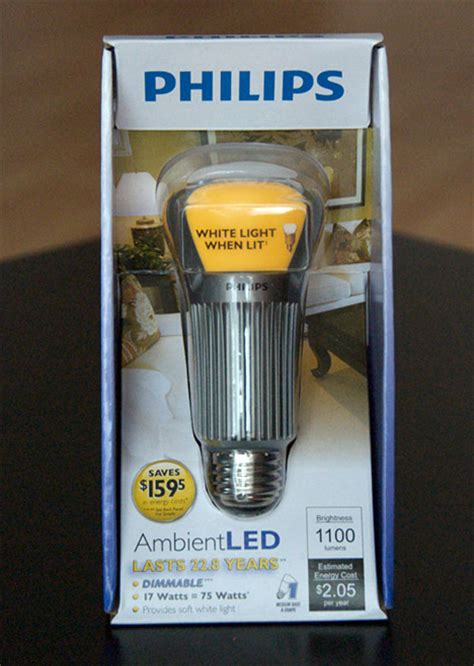 philips ambientled 17 watts led lightbulb product review