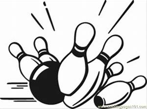 Coloring Pages Bowling Pins (Sports > Bowling) - free ...