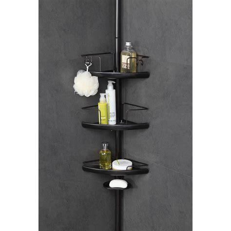homezone  tier adjustable extesion shelf corner pc pole