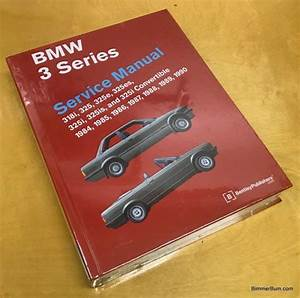 Bmw E30 3 Series Bentley Repair Manual  Hard Cover   B390
