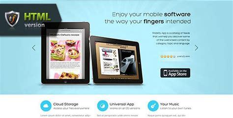mobilityapp ipad iphone  android app theme