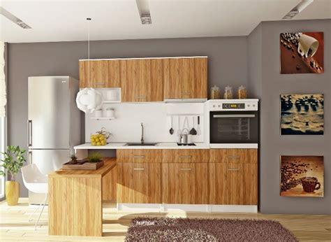 Cuisine bois brut with meubles cuisine bois brut