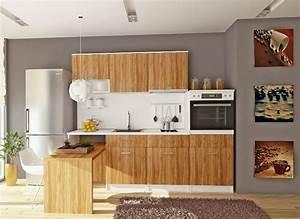 Cuisine En Bois Brut : la cuisine bois brut adopte un look design moderne ~ Teatrodelosmanantiales.com Idées de Décoration