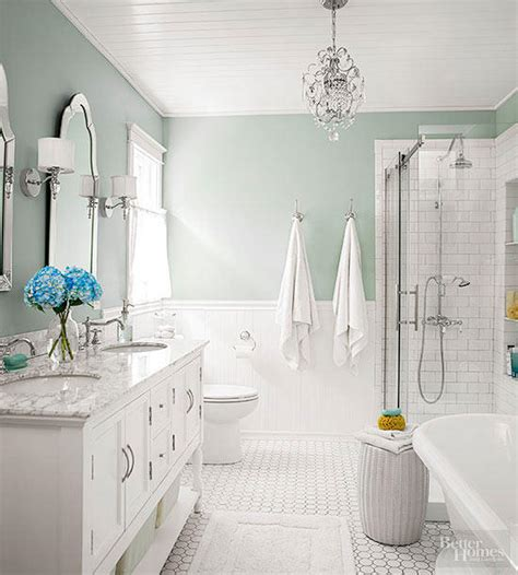 Soothing Bathroom Colors by Soothing Bathroom Color Schemes Better Homes Gardens
