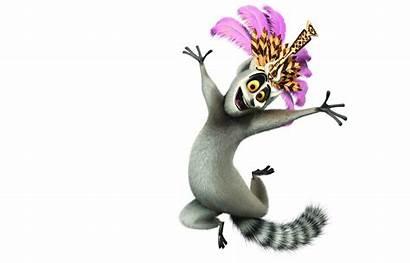 Madagascar King Julian Fictional Animals Julien Characters