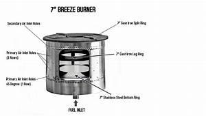Water Heater Burner Diagram