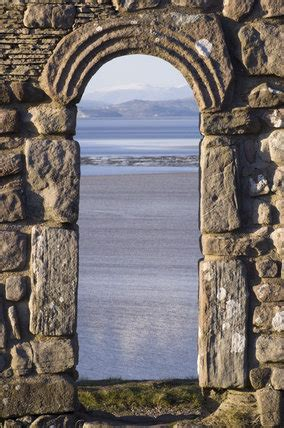 view     carved stone arched windows