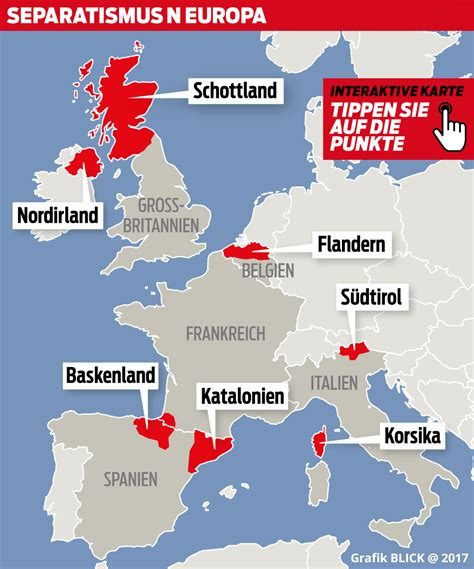 Interaktive Karte Europa