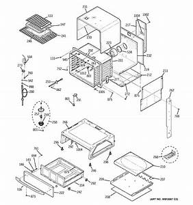 assembly view for body parts jgs968th6ww With view part diagram item 6