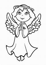 Coloring Angel Christmas Pages Pray Eve Making Catholicireland Printable Getcolorings Colour Reserved Rights 2021 sketch template