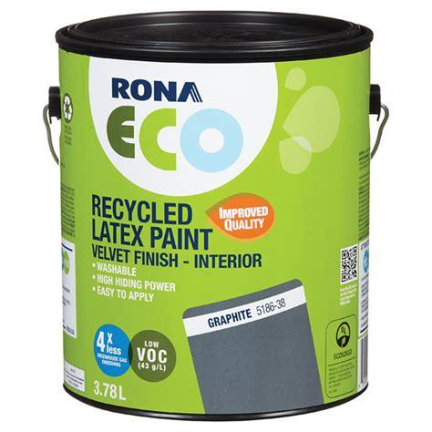 recycled paint velvet finish graphite 3 78 l